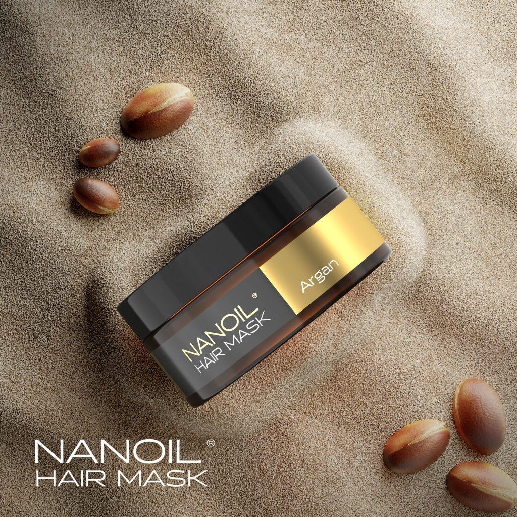 Nanoil - the best argan Hair Mask
